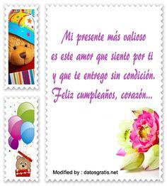 frases con imàgenes de cumpleaños para mi novia,saludos de cumpleaños para mi novia: http://www.datosgratis.net/feliz-dia-mi-amor/