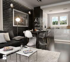 PORTFOLIO - Salon, styl minimalistyczny - zdjęcie od PEKA STUDIO