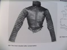 """Abegg Foundation: """"Textile Conservation and Research"""": 'Doublet of Count Friedrich von Stubenberg' Doublet, 16th Century, Counting, Textiles, Cloths, Fabrics"""