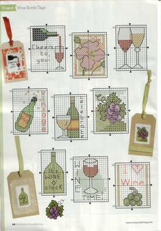 so happy to find these - I love making gift tags to tie on a bottle of wine