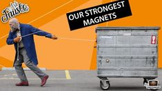 "This episode's question, which will be answered by Fausto from supermagnete, is ""how strong are your strongest magnets?"" [ Find our 10 strongest magnets at: . Stark Sein, Hung Up, Neodymium Magnets, Science And Technology, Tricks, Videos, Strong, The Incredibles, This Or That Questions"