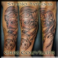 Tattoo by artist greg couvillier the studio tattoo shop for Tattoo shops lafayette louisiana
