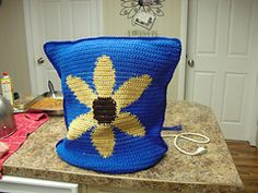 Ravelry: Sunflower Kitchen Mixer Cover pattern by Patrice Nielson