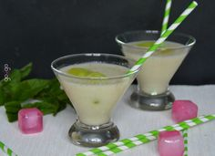 Cocktail litchi coco menthe Litchi, Cocktails, Drinks, Glass Of Milk, Food, Simple House, Mint, Sweet Recipes, Battle