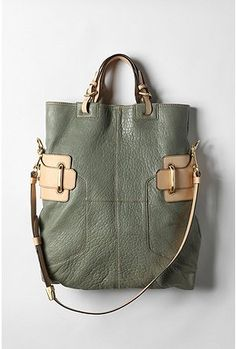 army green and khaki leather - Urban Outfitters