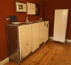 Refridgerator doors reused
