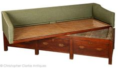 Campaign Furniture bed | Dealers in military campaign furniture & antiques - Christopher Clarke ...