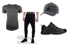 """""""Back Day - Tuesday"""" by ajay-parmar on Polyvore featuring Gym King, Superdry, New Balance, adidas, men's fashion and menswear"""