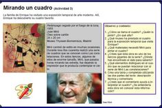 Ficha de lectura: Mirando un cuadro de Joan Miró