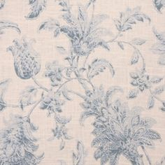 Fausta Cliffside Spring Water Floral Drapery Fabric by Swavelle Mill Creek