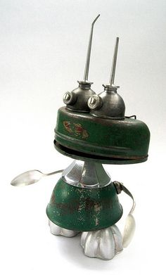 FMG - Found Object Assemblage Robot Sculpture | Flickr - Photo Sharing!