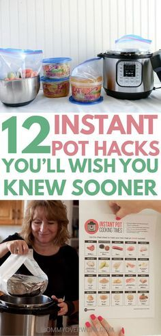 INSTANT POT TIPS / insta-pot tricks for beginners to maximize this 7 in 1 kitchen appliance. Seamless freezer cooking to make family favorite recipes faster; convert your recipes from crockpot, slow cooker, electric pressure cooker; a useful non food item you can make in the instapot, how to properly clean the machine. Get the odor stench in the sealing ring out in a natural, safe way with lemons & vinegar. Aluminum foil hack to get hot inserts out easily #instantpot #instantpothacks
