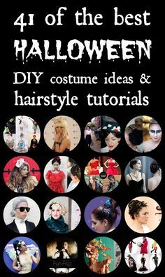 41 of the best Halloween DIY costume ideas and hairstyle tutorials | best stuff
