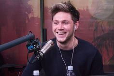 Niall at On Air with Ryan Seacrest