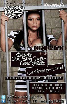 Reggaeton party in Bogotá | 12/07/2012 Candelario Bar