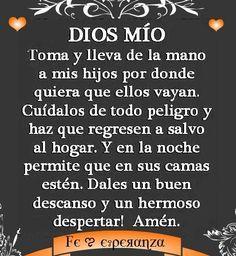 Oracion por los hijos