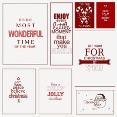 FREE Download these great journaling cards for your December Daily, and see how Fuchsia used them in her 2014 Project Life Album. These classic tags will add a traditional touch to your albums. I think …
