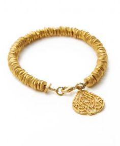 All Love Gold Beaded Bracelet