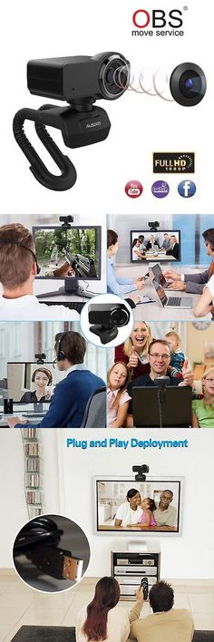 cb65a9ad9c2 Webcams 4616: Live Streaming Webcam Full Hd 1080P Obs Camera With  Microphone For Computer Pc