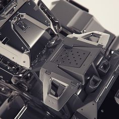 Abstract hard surface