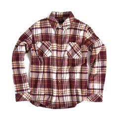 9995f9d8b2 Cabin Flannel - Maroon