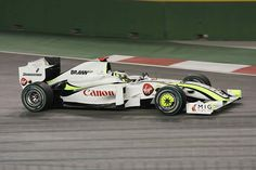 2009 Singapore Brawn GP BGP01 Jenson Button. too bad this team didn't last they accomplished a lot in a short time period.