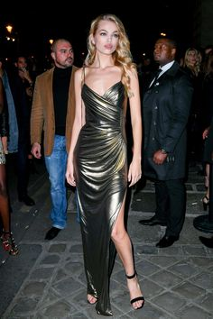 Daphne Groeneveld – L'Oreal Gold Obsession Party in Paris 10/2/2016