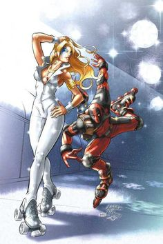 ✭ Dazzler and Deadpool