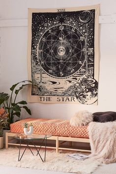 Shop Tarot Tapestry at Urban Outfitters today. We carry all the latest styles, colors and brands for you to choose from right here.