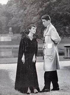 Delphine Seyrig & Alain Resnais, on the set of 'Muriel ou le Temps d'un retour' ('Muriel, or the Time of a Return') ~ 1963
