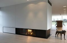 Attractive Modern Fireplaces Designs