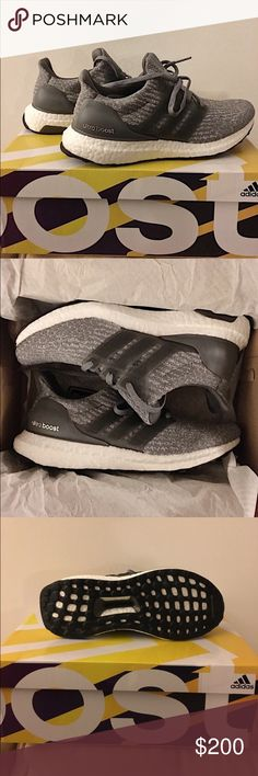 ✨NWT Adidas Ultraboost 3.0 Running Sneakers ✨ ✨NWT Adidas Ultraboost 3.0 Running Sneakers ✨ Sold out everywhere! New and never used or worn. Color is Grey/Dark Grey and Women's Size 6. adidas Shoes Sneakers