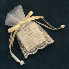 Pearl-Sequin Favor Pouch Favor with Jordan Almonds and the Tradition of Five Almonds Almond Wedding Favours, Italian Wedding Favors, Elegant Wedding Favors, Disney Wedding Favors, Jordan Almonds, Communion Favors, Soap Packaging, Elegant Flowers, First Holy Communion