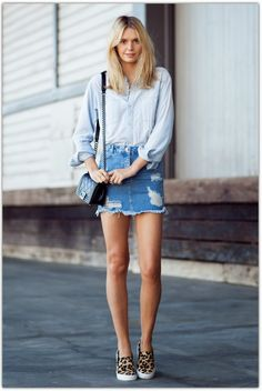 Image result for how to style short skirts