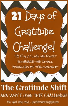 21 Days of Gratitude Challenge. It can be big or small moments of gratitude. You can use the free printable prompts provided as a journal, photo or status update to help you focus on the beauty that surrounds us. Gratitude Quotes, Attitude Of Gratitude, Gratitude Journals, Gratitude Jar, Grateful Quotes, Practice Gratitude, Journal Prompts, Writing Prompts, It's All About Perspective