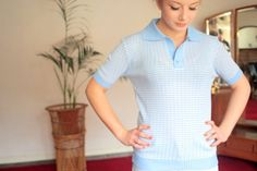 Vintage 1970s Top Shirt Made by Keynote at TinCupVintage, £8.50