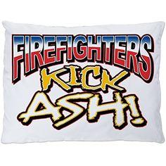 Firefighters Kick Ash Exclamation Dark Royal Lion Mens Tank Top