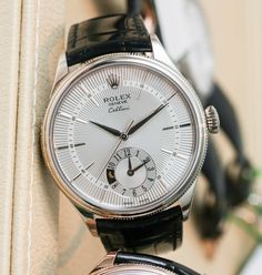 Rolex Cellini Dual Time Watch For 2014 Hands-On