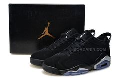 online store 6e587 e1a09 Where To Buy Original Youth Big Boys Air Jordan Big Boys Air Jordan 6 Low  Low Chrome Black Metallic Silver 304401 003 Wholesale