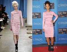Rihanna In Adam Selman – NBA All-Star Saturday Night