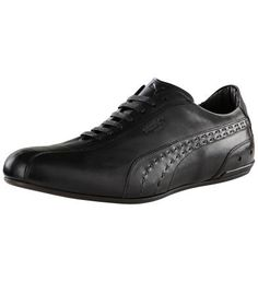 PUMA KING ReLuxe Men's leather shoe part of the PUMA Black Label collection.
