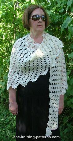 era Ravelry: Bruges Lace Shawl pattern by Elaine Phillips Crochet Shawl Diagram, Crochet Poncho, Crochet Scarves, Crochet Lace, Crochet Pattern, Shawl Patterns, Knitting Patterns, Crochet Capas, Bruges Lace