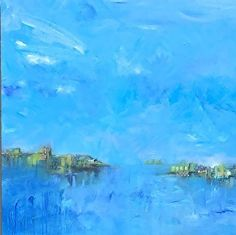 Blue Crush by Debbie Ezell in the FASO Daily Art Show