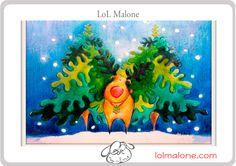 Rudolph en Navidad