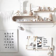 Rafa L shelf in Louis' Nursery