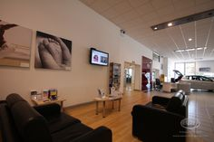 A comfortable environment for our customers to relax whilst looking for a new car.