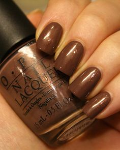 OPI Holland Wooden Shoe Like to Know?  Don't have a brown like this, love it.