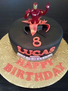 Iron Man 3 Birthday cakes Pinterest Iron Birthday cakes and Cake