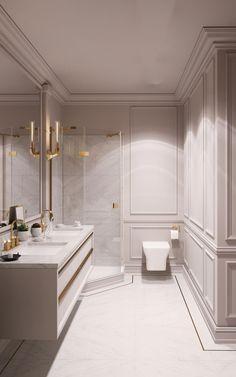 Bathroom Classic Toilets 70 New Ideas Bathroom Lighting Design, Bathroom Design Luxury, Diy Bathroom Decor, Bathroom Ideas, Luxury Bathrooms, Bathroom Inspiration, Apartment Interior Design, Modern Interior Design, Contemporary Interior