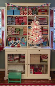 Christmas in the sewing room